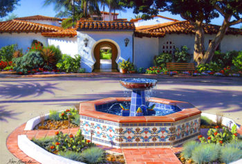 Casa Romantica Fountain